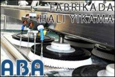 aba halı yıkama fabrikası